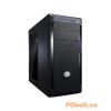 "CoolerMaster N300 Mini Tower Táp nélkül Black Black,2x5,25"",8x3,5"",ATX,Window,2xUsb,Audio,Táp nélkül,190x426x491,5 mm,10x2,5"",2x12x,1x"
