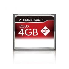 Silicon Power CF CARD 4GB SILICON POWER 200x memóriakártya