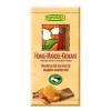 Bio Rapunzel Bio csokoládé, tejcsokoládé mézes mandulás krokant 100 g (1430290)