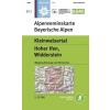 BY02: Kleinwalsertal turistatérkép - Alpenvereinskarte
