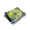 FELLOWES CD-tok, normál, 1 lemez, FELLOWES, black