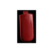 Telone Special álló kihúzhatós bőrtok Samsung S5610 méretű piros* tok és táska