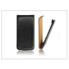 Haffner Slim Flip bőrtok - Samsung G3500 Galaxy Core Plus - fekete