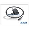 Nokia 6500 classic/7900 prism/8600 Luna gyári micro USB hálózati töltő 120 cm-es vezetékkel - 5V/1,3A - AC-50E - black (csomagolás nélküli)