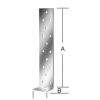 Vormann Lemez betonhoz 71092 300x40x40 mm/25 db