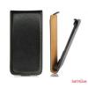 CELLECT Sony Xperia Z1/L39h Flip bőr tok, Fekete