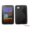 CELLECT Galaxy Tab 2 7.0 TPUS szilikon hátlap,Fekete