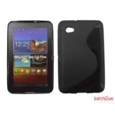 CELLECT Galaxy Tab 2 7.0 TPUS szilikon hátlap,Fekete tablet tok