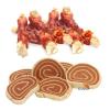 Zooplus Cookie's Delikatess halas változatok 200 g - Tőkehal csigák csirkefilével