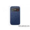 VIVA Galaxy S4 hívás mutató flip cover tok,Kék