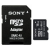 Sony Micro-SDHC memóriakártya, 16GB, Class 10 + Adaptor SD (SR16UYA)