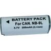Kamera akku CANON NB-9L, 500MAH, 3,7 V, Conrad energy