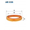 Filtron levegőszűrő AR036 1db