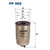 Filtron üzemanyagszűrő PP968 1db