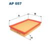 Filtron levegőszűrő AP057 1db