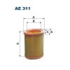 Filtron levegőszűrő AE311 1db