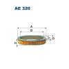 Filtron levegőszűrő AE320 1db