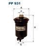 Filtron üzemanyagszűrő PP931 1db
