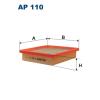 Filtron levegőszűrő AP110 1db