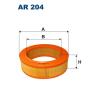 Filtron levegőszűrő AR204 1db