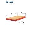Filtron levegőszűrő AP030 1db