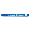 "DONAU Táblamarker, 2-4 mm, kúpos, DONAU ""D-signer B"", k"