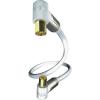 Inakustik Koax antennakábel könyökdugókkal 75 Ω fehér 10 m Inakustik