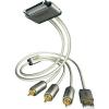 Inakustik Inakustik iPod/iPhone/iPad RCA dugó/RCA dugó/RCA dugó/USB 2.0 dugó A, 2 m