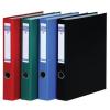 DONAU Gyűrűs könyv, 4 gyűrű, D alakú, 45 mm, A4, PP/kar