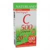 Naturland 500 mg C-vitamin tabletta 20 db