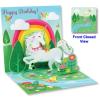 POPSHOTS STUDIOS LTD. Popshots képeslap  négyzet  unicornis