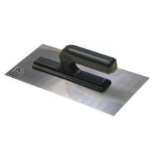 Glettelő, glettvas, rozsdamentes, 270 x 130 x 4 mm barkácsolás, csiszolás, rögzítés
