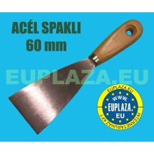 Spakli, fanyelű, acél, 60mm barkácsolás, csiszolás, rögzítés