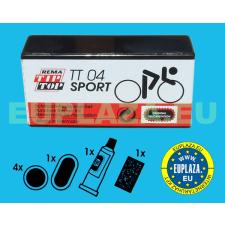 Gumijavító készlet, TT-04, sportkerékpárhoz, Tip-top barkácsolás, csiszolás, rögzítés