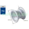 Szellőző, ajtóhoz, T14k7E, kerek, műanyag, fenyő, átmérő 25 mm, 4 db/csomag