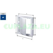 Szerelőajtó, DT15, ellenőrző ajtó, műanyag, fehér, 300 x 300 mm barkácsolás, csiszolás, rögzítés
