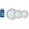 Légszelep, A80 VRF, biztosítógyűrűvel, műanyag, fehér, csőcsatlakozó 80 mm