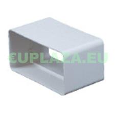 Csőtoldó, KP75-21, négyszög keresztmetszetű légcsatornához, műanyag, 75 x 150 mm barkácsolás, csiszolás, rögzítés