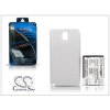 Cameron Sino Samsung N9000 Galaxy Note 3 hátlapos akkumulátor - Li-Ion 6400 mAh - fehér - X-LONGER