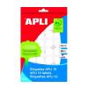 APLI Etikett, 13 mm kör, kézzel írható, APLI, 770 etik
