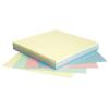 Öntapadós jegyzettömb Info Notes Rainbow 75x75 mm 100 lap/csomag