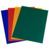 Biurfol Elő- / Hátlap PVC 150 mikron színes sárga 25db/csomag