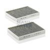 MANN FILTER CUK2736-2 aktívszenes pollenszűrő (2 db/csomag)