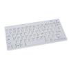 Gembird bluetooth slimline compact keyboard  white  US layout