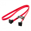 4world HDD Cable | SATA 3 | 60cm | right | red