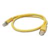 Gembird FTP kat.5e RJ45 patch kábel  0.5m  sárga