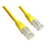 Gembird UTP kat.5e RJ45 patch kábel  0.5m  sárga