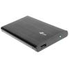TRACER 722 AL hordozható HDD ház 2.5\'\' SATA max: 750 GB