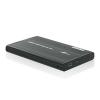 4world HDD 2.5 Aluminum külső ház fekete