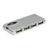 MANHATTAN Hi-Speed USB 2.0 Slim Hub 4 port + tápegység